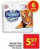 Royale Tiger Paper Towels