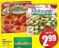 Dr. Oetker Ristorante - Thin Crust - Ultra Thin Crust or Casa Di Mama Pizza