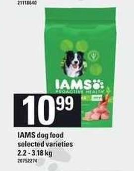 Iams Dog Food - 2.2 - 3.18 Kg