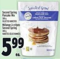 Second Spring Pancake Mix 300 g