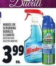 Windex Or Scrubbing Bubbles Cleaners