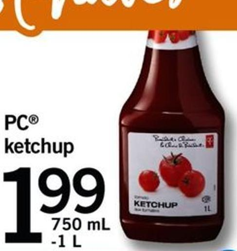 PC Ketchup - 750 Ml -1 L