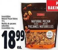 Irresistibles Natural Pecan Halves 700 g