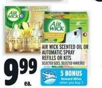 Air Wick Scented Oil Or Automatic Spray Refills Or Kits