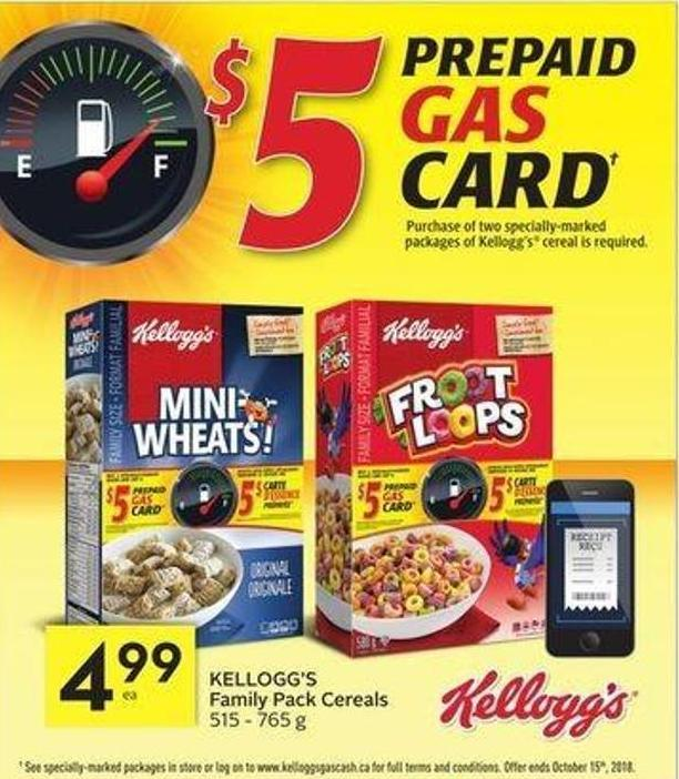 Kellogg's Family Pack Cereals