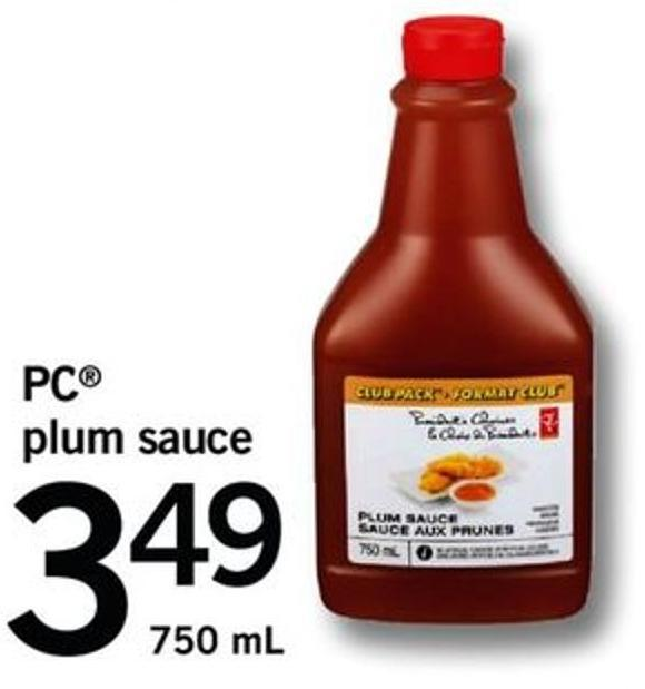 PC Plum Sauce - 750 Ml