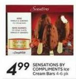 Sensations By Compliments Ice Cream Bars