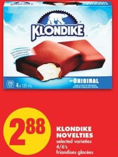 Klondike Novelties - 4/6's