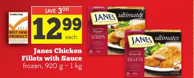 Janes Chicken Fillets With Sauce
