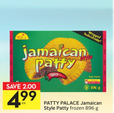 how to cook jamaican patty from frozen