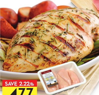 Sensations By Compliments Boneless Skinless Chicken Breasts