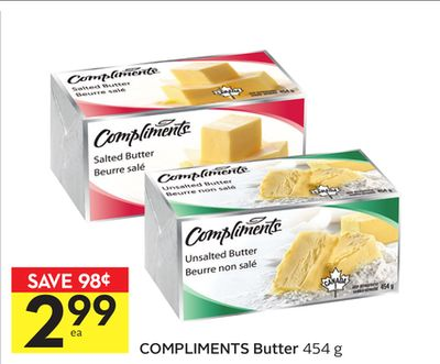 Compliments Butter