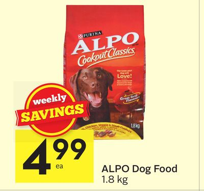 Alpo Dog Food On Sale