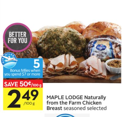 Maple Lodge Naturally From The Farm Chicken Breast