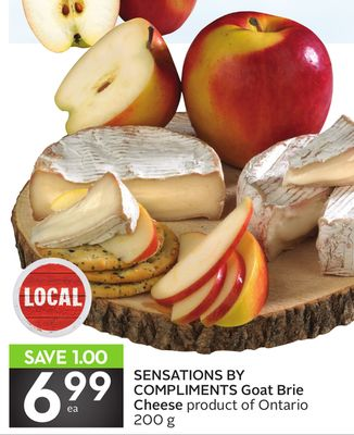 Sensations By Compliments Goat Brie Cheese
