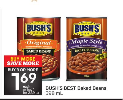 evaluating regulations for bush s baked beans On july 22, 2017, we announced a voluntary recall of certain 28 ounce cans of bush's® brown sugar hickory baked beans, country style baked beans and original baked beans due to potentially defective side seams on the cans this recall was initiated after our internal quality assurance checks identified the issue.