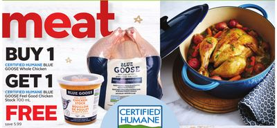 Certified Humane Blue Goose Whole Chicken