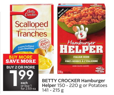 Hamburger Helper on sale | Salewhale.ca