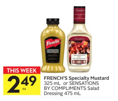 French's Specialty Mustard