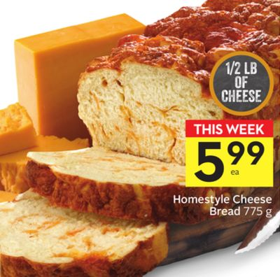 Homestyle Cheese Bread