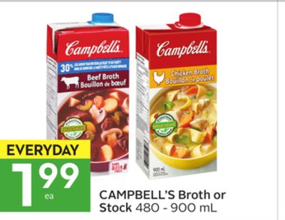 Campbell's Broth or Stock