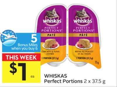Whiskas Perfect Portions