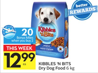 Kibbles 'N Bits Dry Dog Food