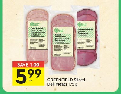 Greenfield Sliced Deli Meats