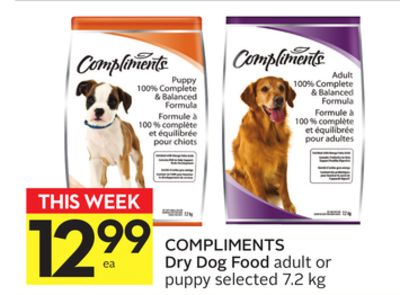 Compliments Dry Dog Food