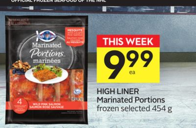 High Liner Marinated Portions