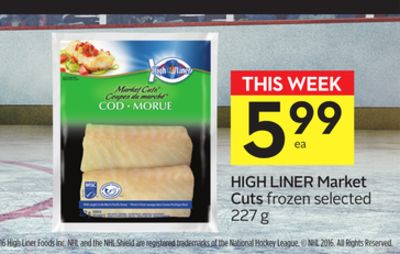 High Liner Market Cuts