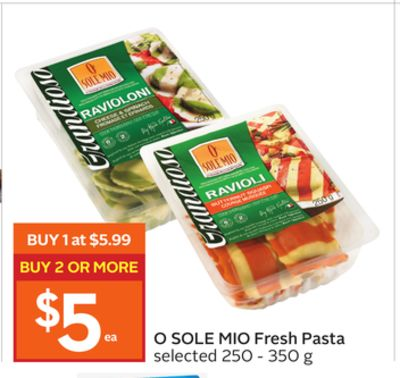 O Sole Mio Fresh Pasta