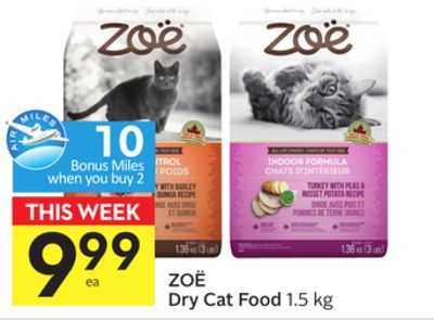 Zoë Dry Cat Food