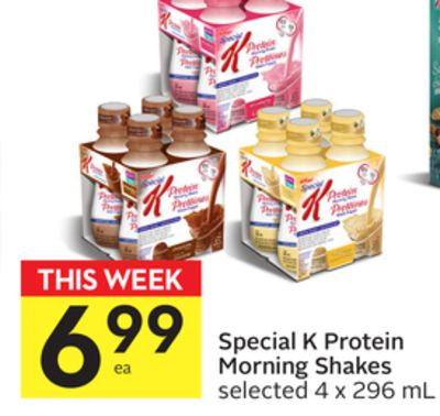 Special K Protein Morning Shakes