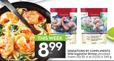 Sensations By Compliments Wild Argentine Shrimp