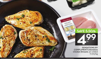 Sensations By Compliments Boneless Chicken Breasts