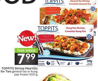 Toppits Shrimp Meal Kits For Two