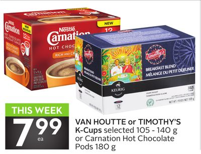 Van Houtte or Timothy's K-cups