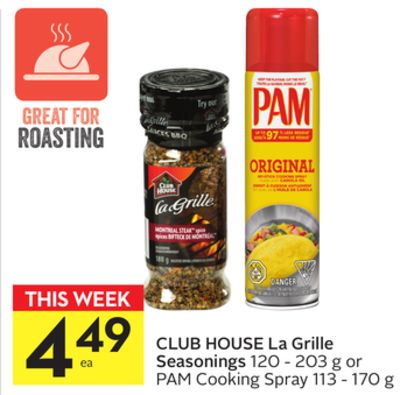 Club House La Grille Seasonings