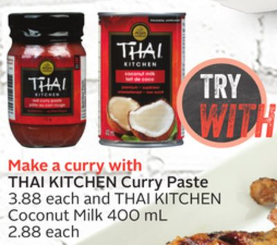 Thai Kitchen Curry Paste