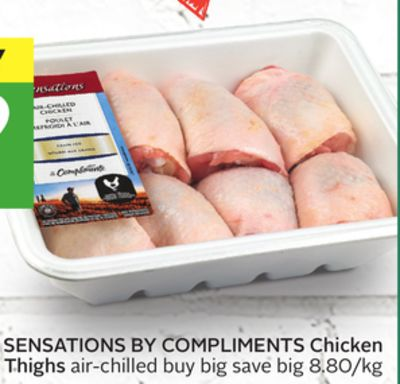 Sensations By Compliments Chicken Thighs