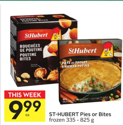 St-hubert Pies or Bites