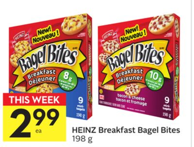 Heinz Breakfast Bagel Bites