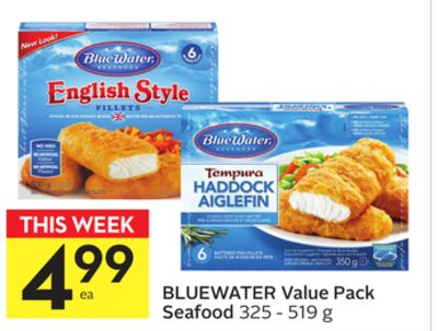 Bluewater Value Pack Seafood