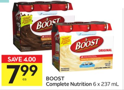 Boost Complete Nutrition