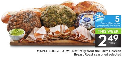 Maple Lodge Farms Naturally From The Farm Chicken Breast Roast