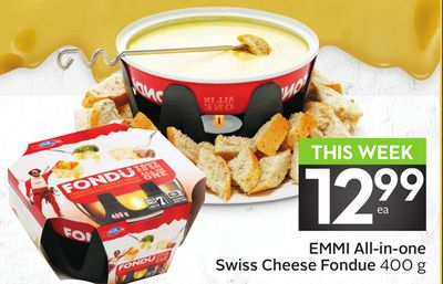 Emmi All-in-one Swiss Cheese Fondue
