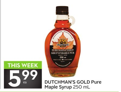 Dutchman's Gold Pure Maple Syrup