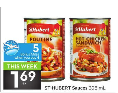 St-hubert Sauces