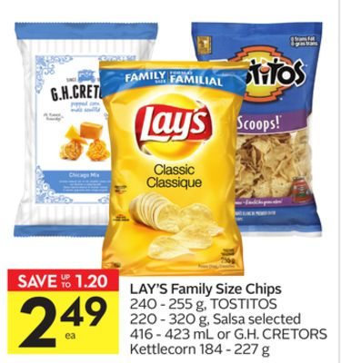 Lay's Family Size Chips